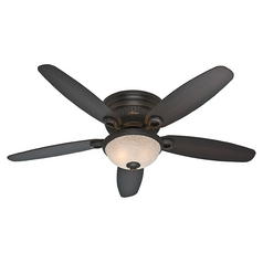 52-Inch Hunter Fan Ashmont Onyx Bengal Ceiling Fan with Light