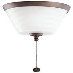 Kichler Lighting Kichler Light Kit with White in Oil Brushed Bronze Finish 380101OBB