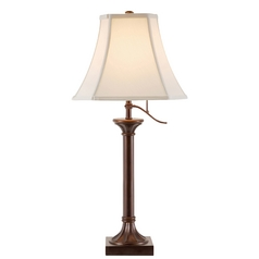Desk Lamp in Antique Bronze Finish - Shade Not Included