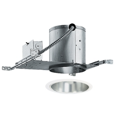 6-inch Recessed Lighting Kit with Tapered Haze Trim