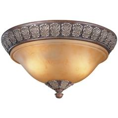 Dolan Designs Lighting 15-Inch Flushmount Ceiling Light 824-38