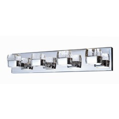 Volt Polished Chrome LED Bathroom Light