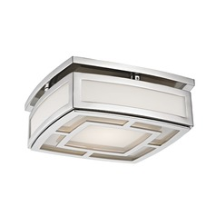 Hudson Valley Lighting Elmore Polished Nickel LED Flushmount Light