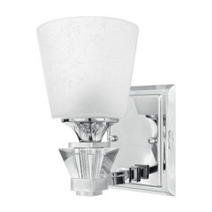 Modern Sconce in Polished Chrome Finish