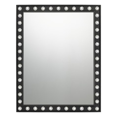 Transitional Mirror Black Quoizel Reflections by Quoizel Lighting