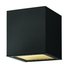 Hinkley Lighting Modern Close To Ceiling Light in Satin Black Finish 1763SK