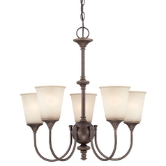 Lite Source Lighting Sullivan Antique Gold Mini-Chandelier