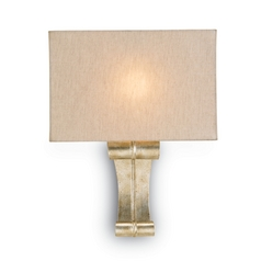 Modern Sconce Wall Light in Silver Granello Finish