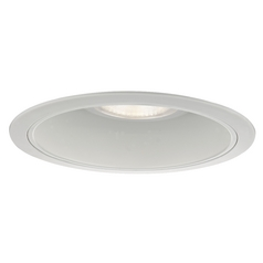 White Cone Reflector Trim for 6-Inch Recessed Housings