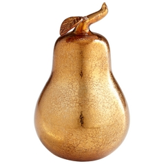 Cyan Design Pear Bronze Sculpture