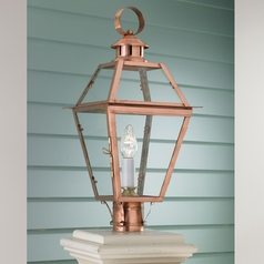 Norwell Lighting New Orleans Copper Post Light