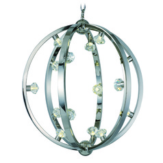 Maxim Lighting International Equinox LED Polished Nickel LED Pendant Light
