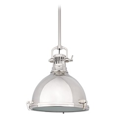 Mini-Pendant Light in Polished Nickel Finish