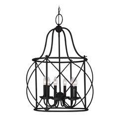 Sea Gull Lighting Turbinio Blacksmith LED Pendant Light