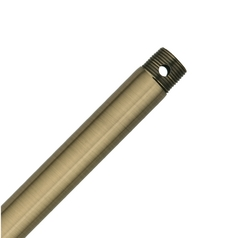 18-Inch Downrod for Casablanca Fans - Antique Brass Finish