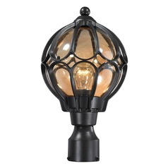 Elk Lighting Madagascar Matte Black Post Light