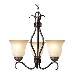 Maxim Lighting Basix Oil Rubbed Bronze Mini-Chandelier