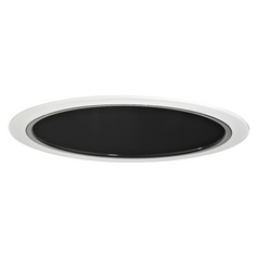 Black Reflector Trim for 6-Inch Recessed Housings