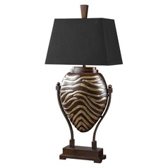 Uttermost Aguila Dark Bronze Table Lamp