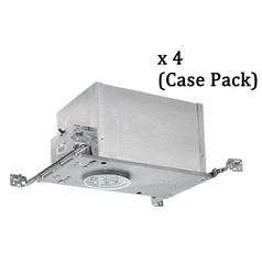 4-Inch Low Voltage Recessed Can- Case Pack of Four