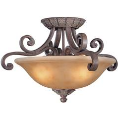 Dolan Designs Lighting Semi-Flush Ceiling Light 825-38