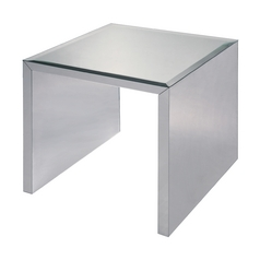 Sterling Lighting Acrylic Accent Table