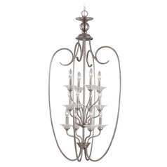 Sea Gull Lighting Lemont Antique Brushed Nickel Pendant Light