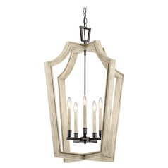 Kichler Lighting Botanica Anvil Iron Chandelier