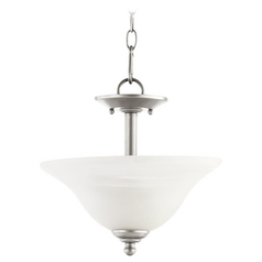 Quorum Lighting Spencer Classic Nickel Pendant Light