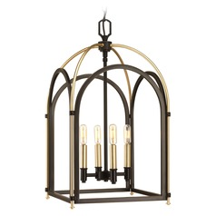 Westfall Antique Bronze / Vintage Brass Pendant Light by Progress Lighting