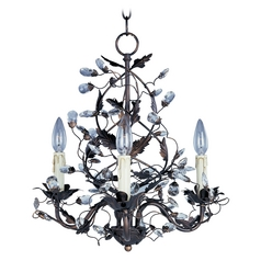 Mini-Chandelier in Oil Rubbed Bronze Finish