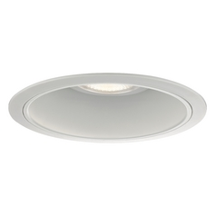 White Reflector Trim for 6-Inch Recessed Housings