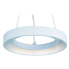 Apollo LED Matte White LED Pendant Light