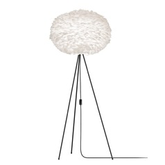 Vita Copenhagen Black Floor Lamp with Bowl / Dome Shade