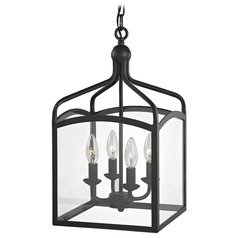 Preston Square Lantern Pendant Entryway Light