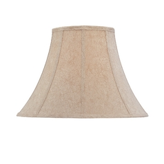Silk Round Bell Soft Back Lamp Shade with Piping