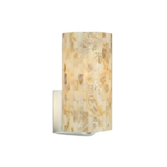 Natural Shell Sconce