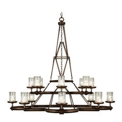 Fine Art Lamps Liaison Antique Hand-Rubbed Bronze Chandelier