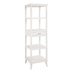 Sterling Lighting White Shelving