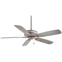 60-Inch Minka Aire Fans Sunseeker Driftwood Ceiling Fan Without Light