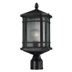 Elk Lighting Lowell Matte Black Post Light