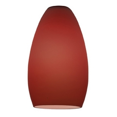 Plum Bowl / Dome Glass Shade with 1-5/8-Inch Fitter Opening