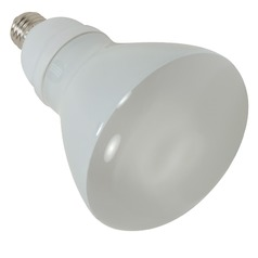 Compact Fluorescent R30 Light Bulb Medium Base 2700K 120V by Satco Lighting