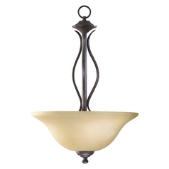 Quorum Lighting Spencer Toasted Sienna Pendant Light