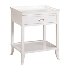 Sterling Lighting White Coffee & End Table