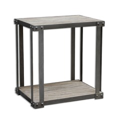 Uttermost Makoto Industrial Side Table