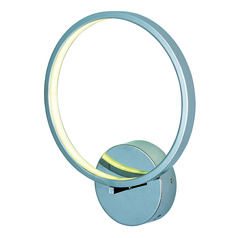 Hoops LED Polished Chrome LED Sconce