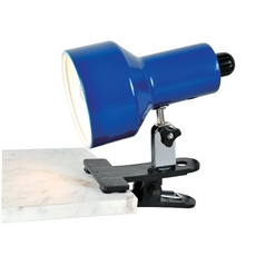 Lite Source Lighting Clip-On Ii Blue Clip-On Lamp