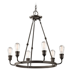 Kichler Lighting Lucien Olde Bronze Chandelier