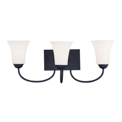 Livex Lighting Ridgedale Black Bathroom Light